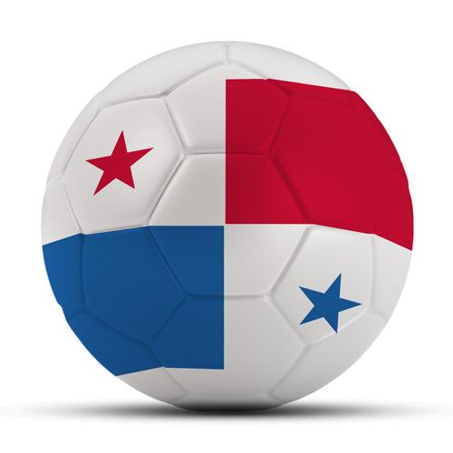 Länderball Panama mit Flagge