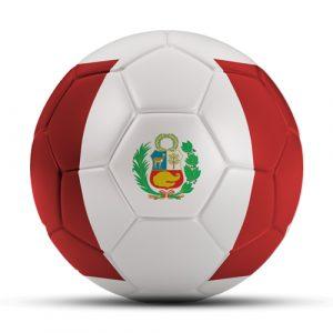 Länderball Peru Flaggenball