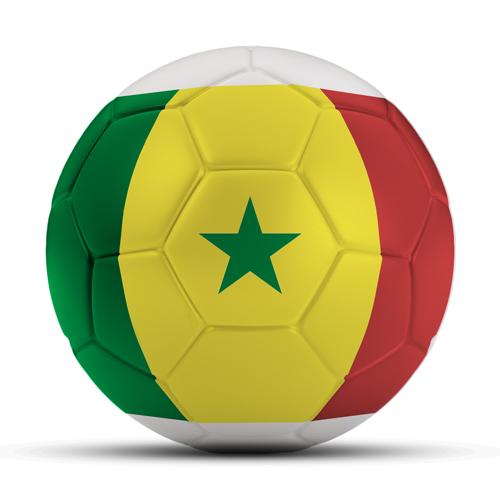 Länderball Senegal Flaggenball