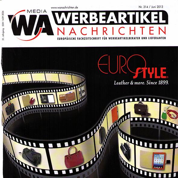 Werbeartikel Verlag WA Media Fachzeitschrift Artikel