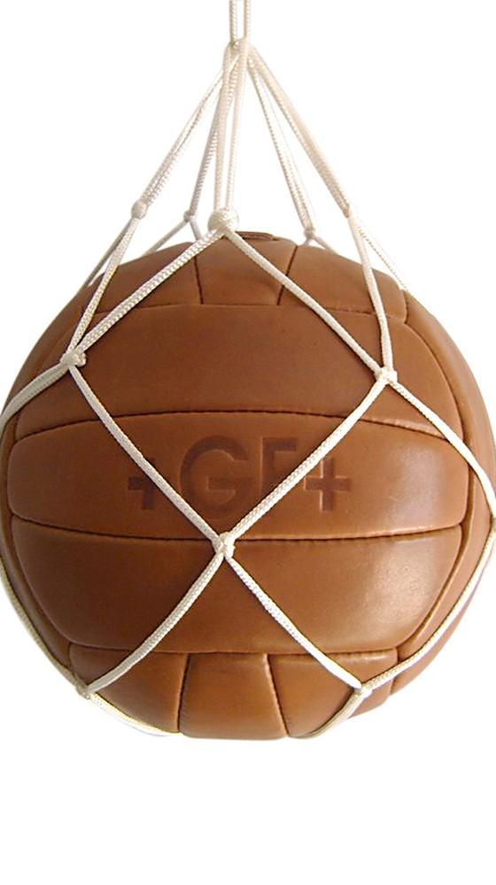 Das Wunder von Bern Fußball Artikel Retro-Ball mit Netz