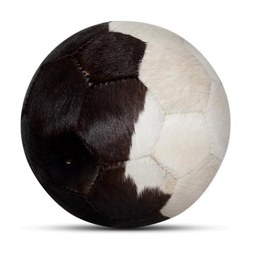 Designball Fell gescheckt schwarz