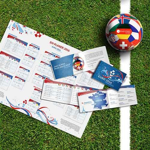 Individueller Spielplan zur EM 2016 in Frankreich