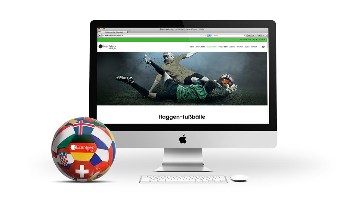 Neue Webseite/ Homepage für düsentrieb design