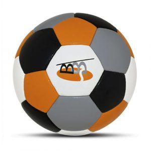 Werbeball Bietigheim-Bissingen vierfarbiger Firmenfußball mit Logo