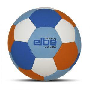 Werbeball elbe Group Firmenfußball mit Logo