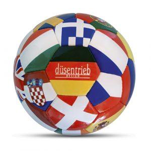 EM 2012 Länderball mit Logo