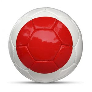Länderball Japan