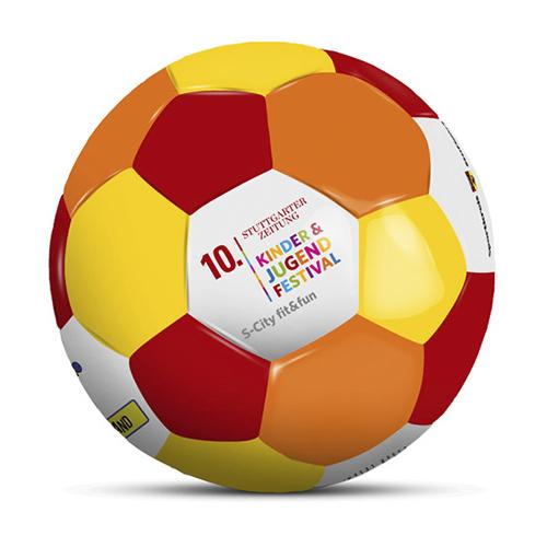 Duesentrieb Werbeball/Fußball  K.M.R. Romer
