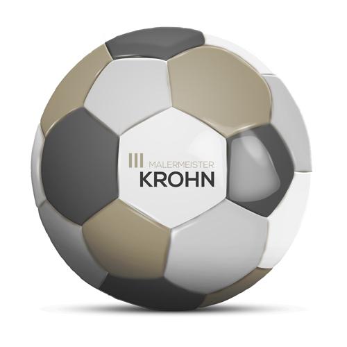 Duesentrieb Werbeball/Fußball Krohn