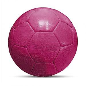 Designball Kunstleder Kroko pink