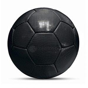 Designball Kunstleder Kroko schwarz