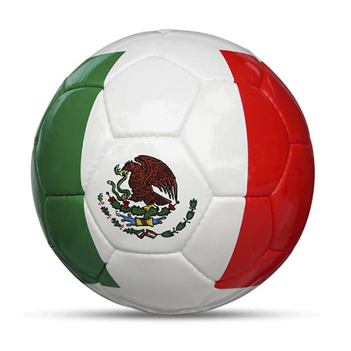Länderball Mexiko