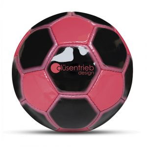 Designball neon pink zweifarbig