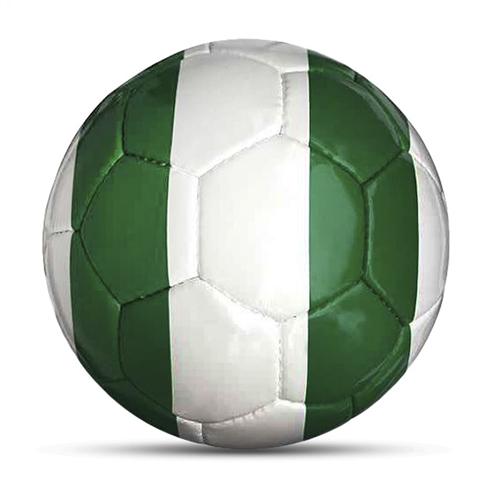 Länderball Nigeria