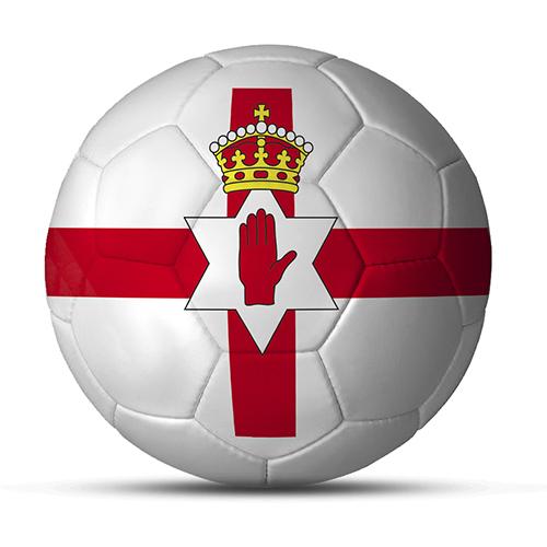 Duesentrieb Länderball/Fußball Nordirland