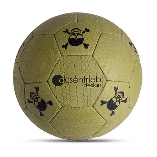 Duesentrieb Designball/Fußball reifenprofil oliv