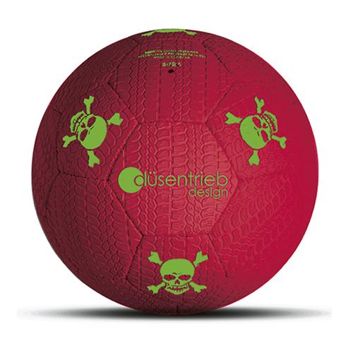 Duesentrieb Designball/Fußball Reifenprofil Rot