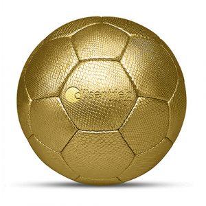 Designball Schlange gold