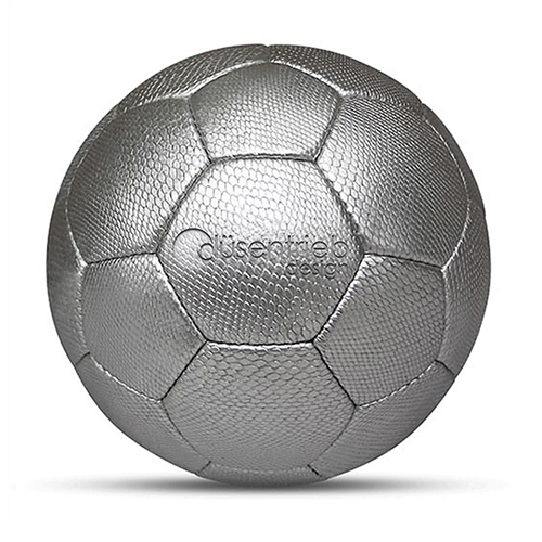 duesentrieb-fussball-schlange-silber