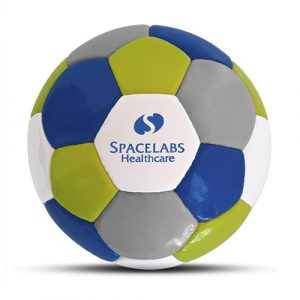 Werbeball Spacelabs Healthcare aus PU-Material mit Logo