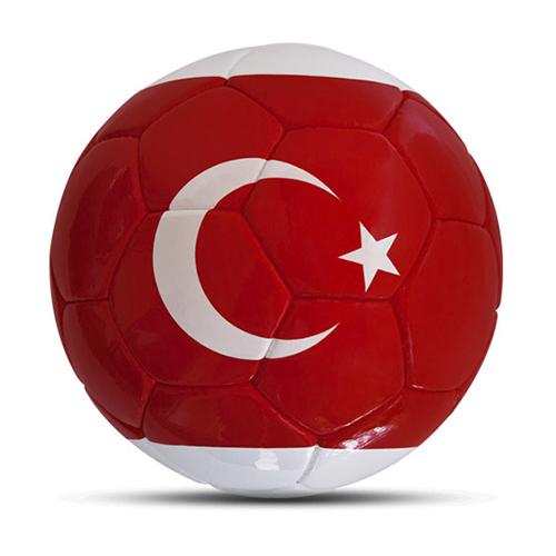 Länderball Türkei Flagge