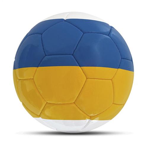 Länderball Ukraine zweifarbig