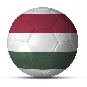 Länderball Ungarn dreifarbiger Fußball