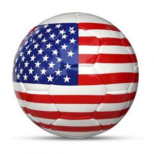 Länderball USA bedruckt