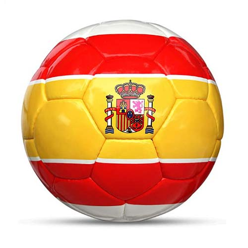 Länderball Spanien