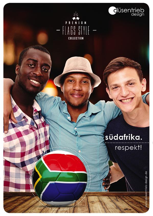 Plakat Südafrika Respekt!