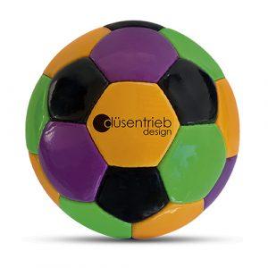 Designball vierfarbig aus PU-Material